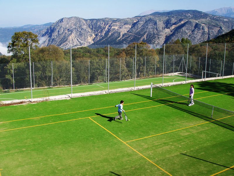 Tennis Court and 5 a side Football Pitch 800x600